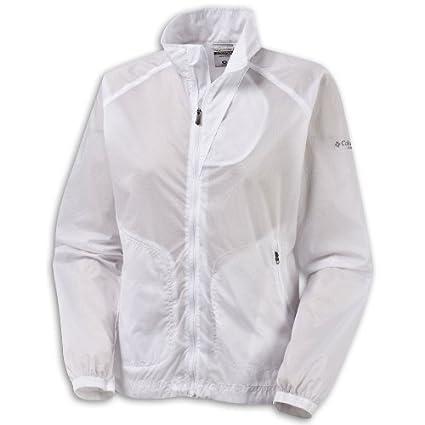 mejor valor rebajas(mk) marca popular Columbia WL3134 038XL - Chubasquero para mujer, color blanco ...