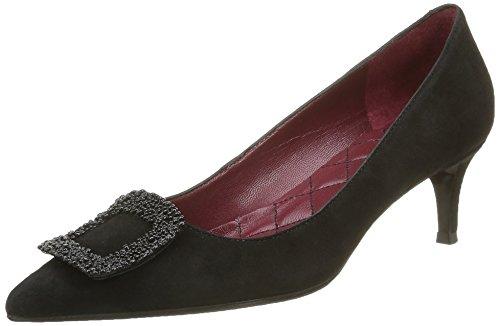 De Mujer Para 53 Primafila 022 Cerrada Zapatos Con Punta Tacón 5 Negro wIwqxv