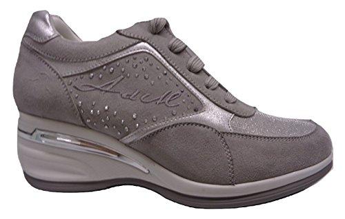 Grigio di Scarpe col mare Donna Sneaker Armata Tacco xB0Zw
