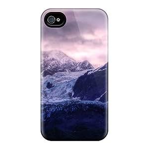 Snap-on Case Designed For Iphone 5/5s- Glacier Sunrise