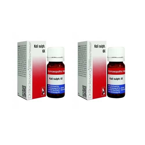 2 x Dr.Reckeweg-Germany Kali Sulph. 6x. Homeopathic Medicine