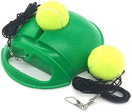 Amazon Com Top Tennis Trainer Rebound Ball 2020 Model Solo Tennis Practice Trainer Gear 1 Complete Tennis Training Exercise Ball Equipment Kit With 2 Return Elastic Strings 2 Balls
