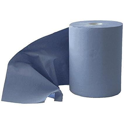 Limpieza Limpieza rollo Wiper – Azul 3 capas 1000 hojas 37 x 38 cm – Gamuza