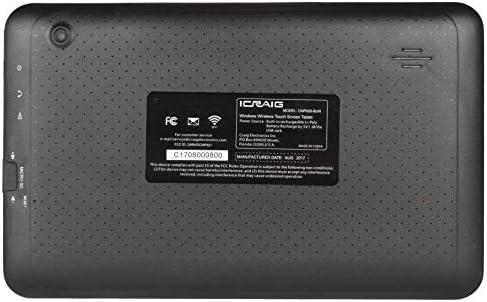 Craig CMP828-BUN 9″ Touch 8GB Android Tablet Quad Core 1.2GHz w/Cams Keyboard Case – Black 41C2eWjJEdL