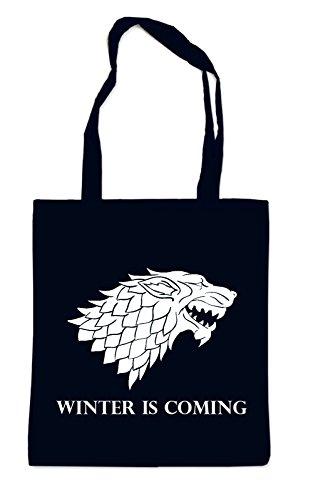 Winter Is Coming Bag Black Certified Freak