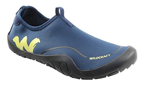 Wildcraft Men s HypaGrip Dara - Navy Lime Training Shoes (51581) - 10 UK  India 04d7c8b51