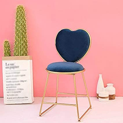 SED Chair   Chair Make Up Stool Heart Shaped Chair Restaurant Living Room  Chair Bar Cafe