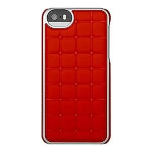 Adopted Wrap Case - Carcasa para Apple iPhone 5, rojo