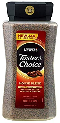 Nescafe Taster's Choice Signature House Blend Instant Coffee Classic Taste | 14 Ounce Value Size | Premium Freshness In Your Morning Cup by Nescafe Premium Beverages