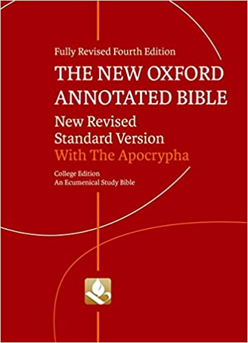 The new oxford annotated bible with apocrypha new revised standard the new oxford annotated bible with apocrypha new revised standard version fourth edition fandeluxe Choice Image
