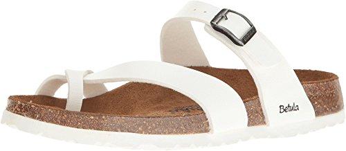Birkenstock Betula Licensed Women's MIA Birko-Flor¿ Basic White (Betula Cork Sandals)