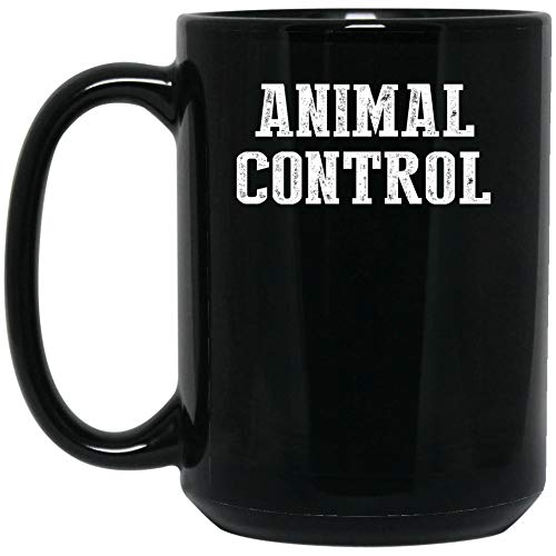 Animal Control Halloween Costume Mug Coffee Mug (Black
