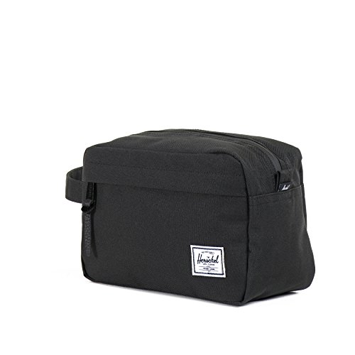 Herschel Supply Co. Chapter Travel Kit,Black,One Size