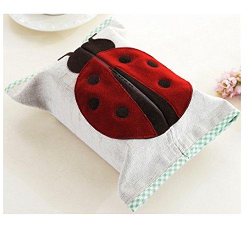 Ladybug Tissue Box Cover - 5