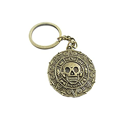 30%OFF Vintage Style Pirates of the Caribbean Coin Pendant