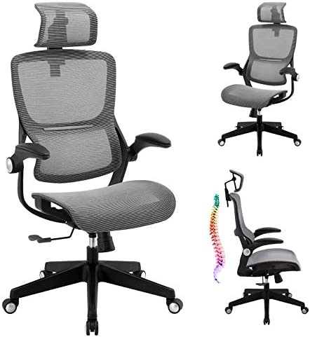 Office Chair Mesh Ergonomic Desk Chair High Back Computer Task Chair Swivel Stool Rolling Home Office Chair