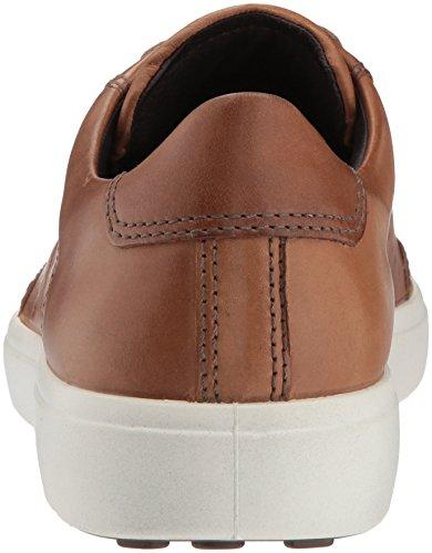 Ecco Uomo Soft 7 Fashion Sneaker Whisky Retro Perforato