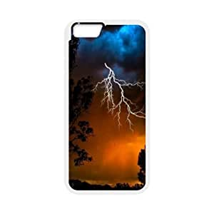 Lightning CHA5032308 Phone Back Case Customized Art Print Design Hard Shell Protection Iphone 6