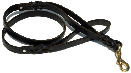 Signature Double Handle Braided Leather