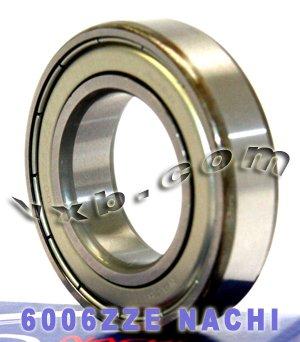 6006ZZE Nachi Bearing Shielded C3 Japan 30x55x13 Ball Bearings