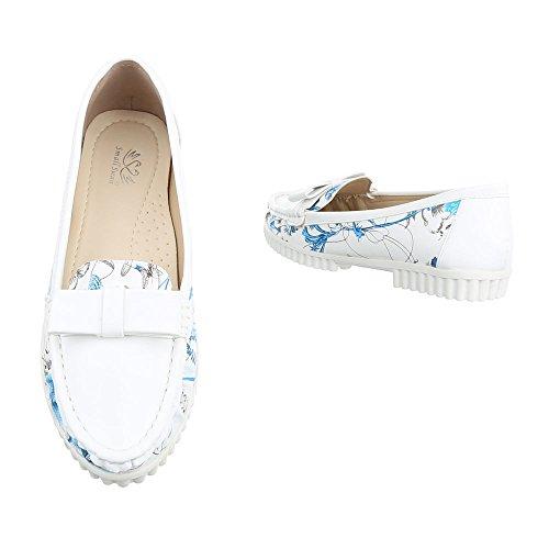 Ital-Design - Cerrado Mujer blanco y azul
