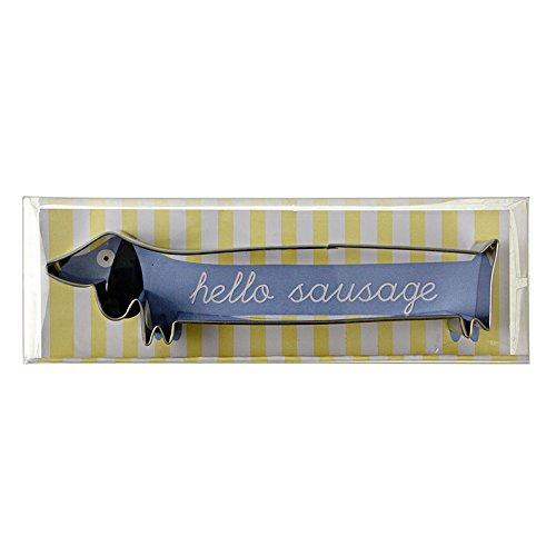 Sausage Dog Cookie Cutter - 10cm Long Meri Meri COMINHKR000034