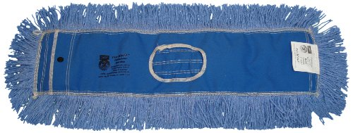Zephyr 12335 Pro-Blend Blue Dust Mop Head, 48'' Length x 5'' Width (Pack of 6) by Zephyr