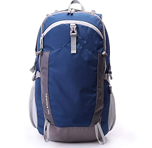 40L Backpack Size Blue Polyester Fabric woman Waterproof GREEN MBJDFX Bag 30KG Water Color 40L Load camping Traveling Man backpacking Bearing 2L Mountaineering Capacity AY E4Bqw