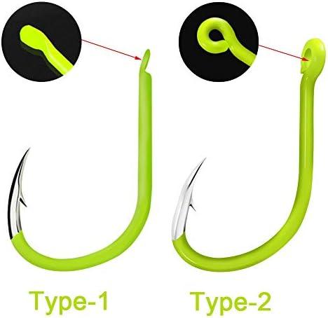 Fishing Craft Hook Accessories Carbon Steel Luminous Glow In The Dark Outdoor