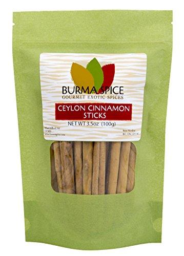 Ceylon Cinnamon Sticks: Pure Natural Dried Bark Quills : Sri Lanka : Kosher (3.5oz.)