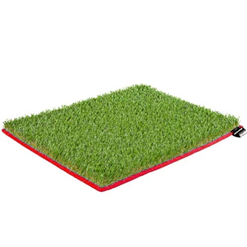 Dorsal Surfer Changing Pad Surf Grass Mat for Wetsuit Change Red por DORSAL