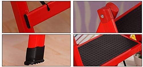 Chaise pour adulte Tabouret de famille à double usage pliable Escaliers domestiques Escaliers pliants Echelle en fer