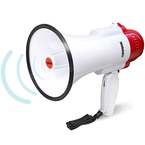 Megaphone Bullhorn Siren Powerful Lightweight