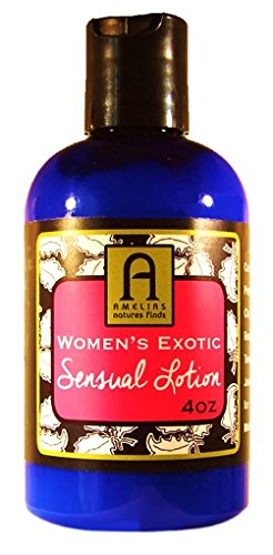 WOMEN'S SENSUAL MASSAGE LOTION, Feel Sexier During Erotic Intimate Times, Exotic Lush Cream with Aphrodisiac Pure Oils to Excite Her, A Perfect Way to Relax and Experience Your Sexual (Her Cream)