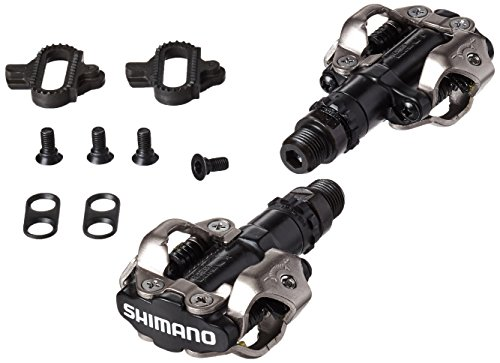 Shimano PD-M520L MTB Sport Pedals with Cleats ()