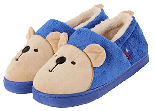 Blubi Menns Søte Dyr Tøfler Kanintøfler Kongeblå. sko; bunny slippers ...