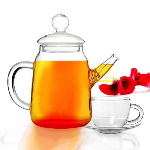Tea Beyond Gift set Glass Teapot Duo set GFS2012