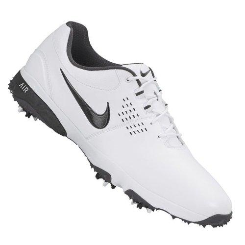 Nike Golf Men's Nike Air Rival III (W) Golf Shoe,White/Iron Ore//Black,14 W US
