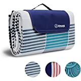 ZOMAKE Picnic Blanket Mat Waterproof Extra Large, Outdoor Blanket with Waterproof Backing for Family, Concerts, Beach, Park