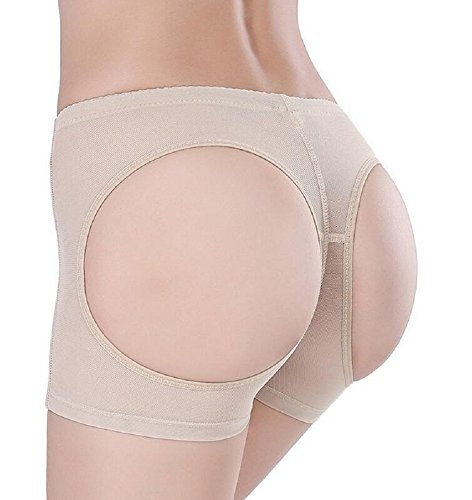 Nude Butt Lifter Miederteil Panty Dessous Form Unterwäsche Größe L UK 12