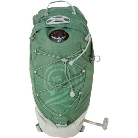 Osprey Verve 7-Litre Hydration Pack (Sea Squall, One Size), Outdoor Stuffs