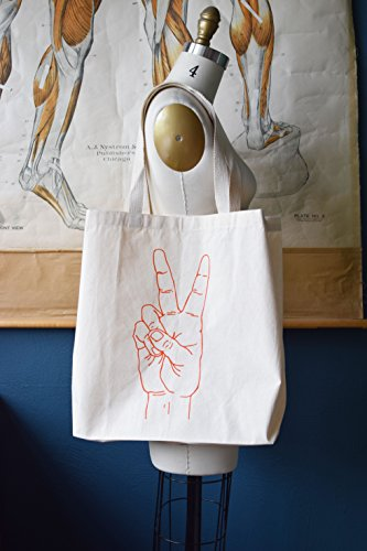 Tote Bag - Peace - Canvas Tote Bag - Carry All Tote Bag - Shopping Tote - Large Tote Bag - Reusable