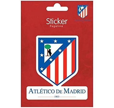 Pegatina Vinilo Atletico De Madrid: Amazon.es: Juguetes y juegos
