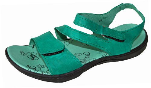 Divaz - Sandalias de vestir para mujer verde - verde
