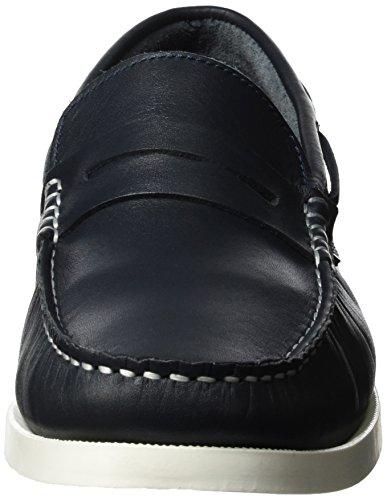 Marc Shoes Herren Arizona Slipper Blau (Blau) ...