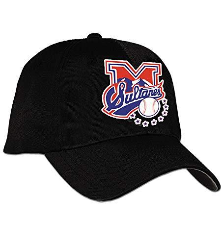 912b73f27 Arza Sports Sultanes de Monterrey Cap Color Black 100% Cotton Adjustable