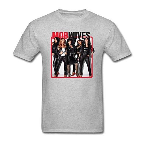 SDAKGF Men's Mob Wives T Shirt S