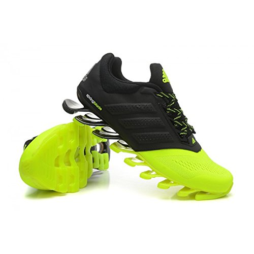 ba47932e332c ... switzerland mens adidas springblade drive running shoes neon green and  black 10uk buy online at low