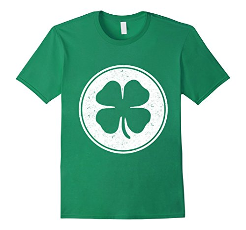 Men's Shamrock St Patrick Day t shirt | st pats Irish, luck, Large Kelly Green (St Pats T Shirts)