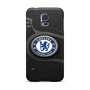 AshtonWells Samsung Galaxy S5 Shock-Absorbing Hard Phone Cases Custom Lifelike Chelsea Fc Pictures [prc3370YCyr]